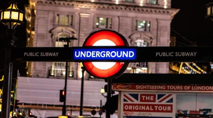 Entrée de la station du tube Oxford Circus