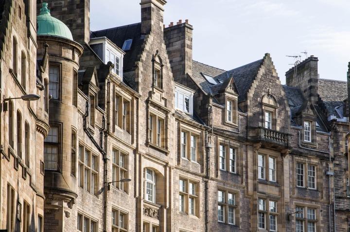 Maisons en rangée à Édimbourg