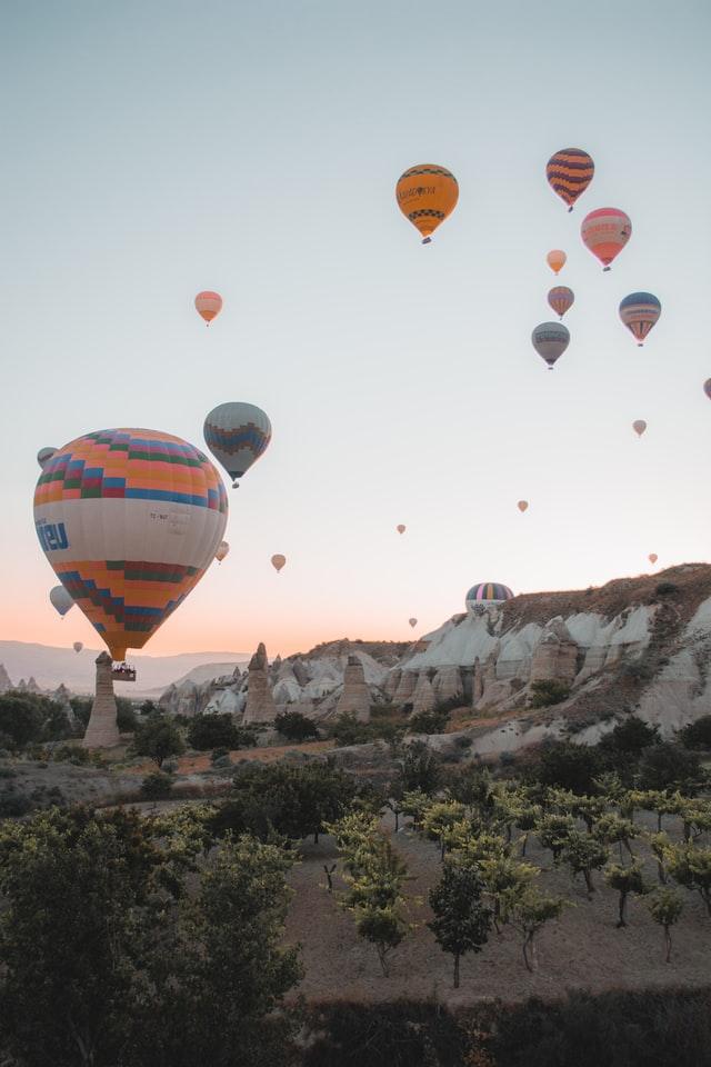 montgolfière-cappadoce